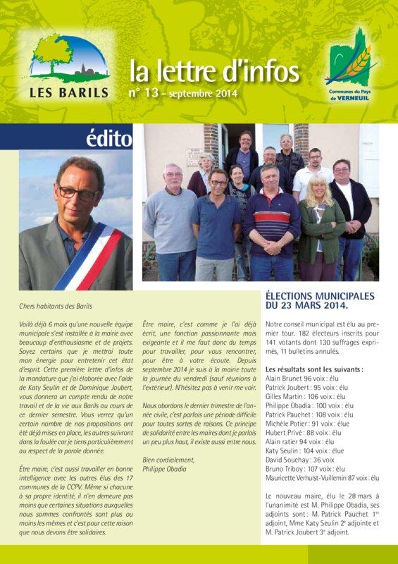 thumbnail of La-lettre-dinfos-numéro-13
