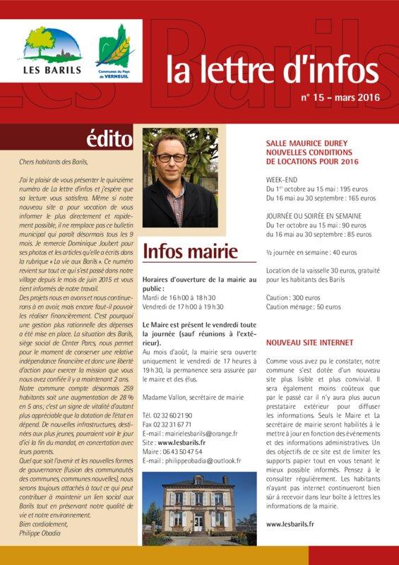 thumbnail of La-lettre-dinfos-numéro-15