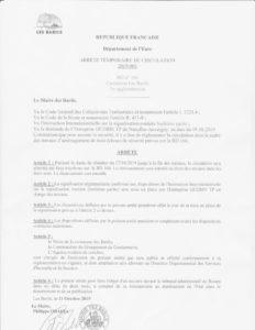 thumbnail of Arrêté travaux RD 166