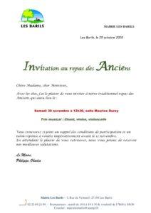 thumbnail of courrier invitation repas des Anciens 2019
