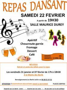 thumbnail of flyer soirée choucroute