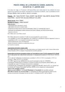 thumbnail of PV du 17 Janvier 2020