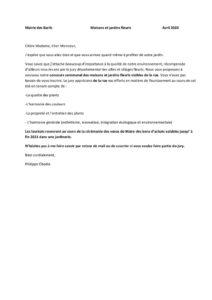 thumbnail of courrier concours maisons et jardins fleuris 2020