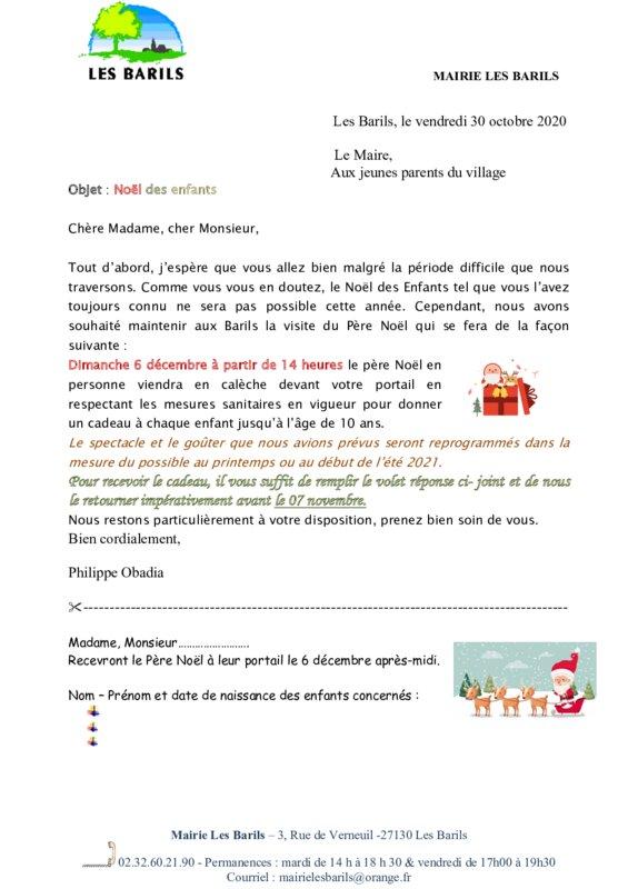 thumbnail of invitation Noël des enfants 2020