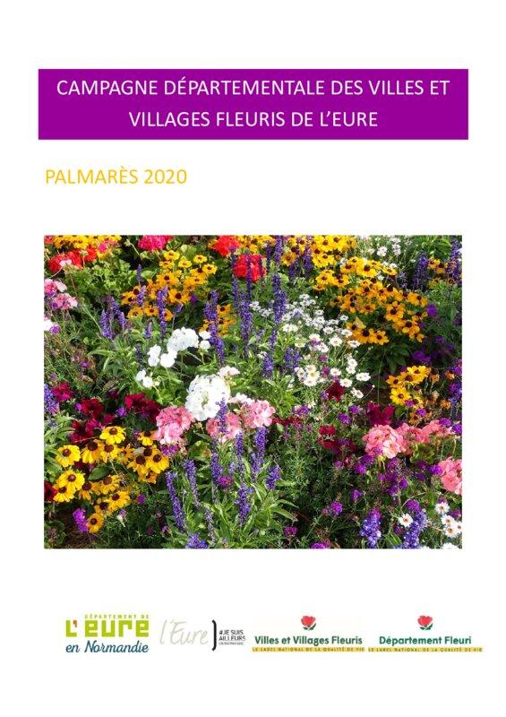 thumbnail of PALMARES VILLES VILLAGES FLEURIS 2020