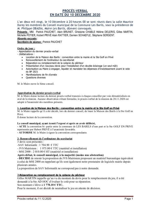 thumbnail of PV du 11-12-2020